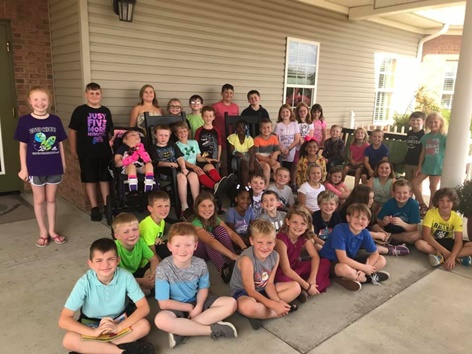 Pen Pal Visit from Trigg Students